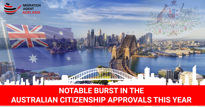 Notable Burst in the Australian Citizenship Approvals This Year!