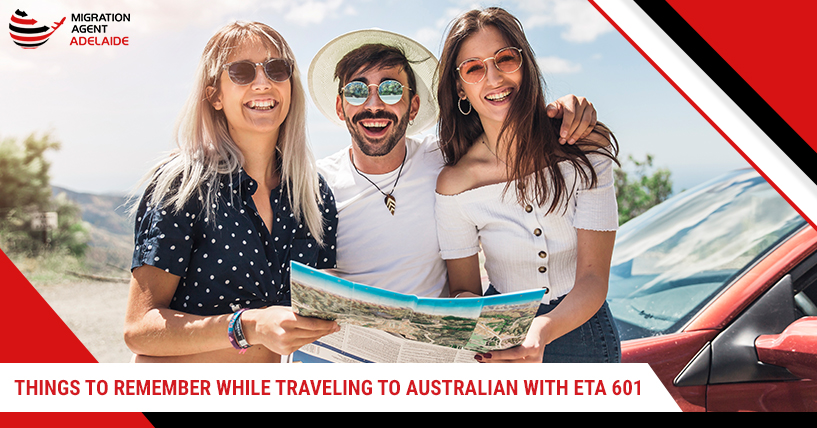 Things to Remember While Travelling To Australia with ETA 601